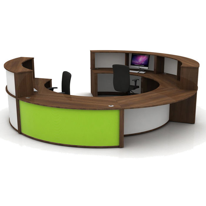 Round Modular Reception Desk Circular Reception Counter